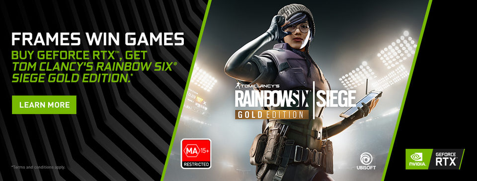BONUS Rainbow 6: Siege Gold Edition!*